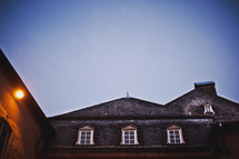 roofline of a home in Luxembourg