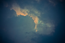building storm clouds