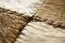 stitched animal skins