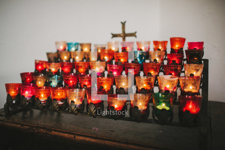 votive prayer altar candles