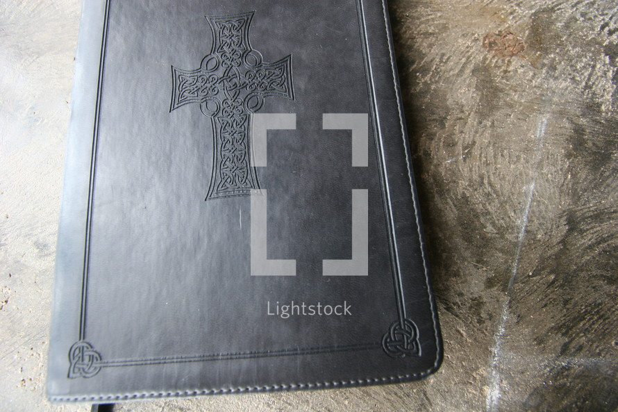 Leather embossed bible