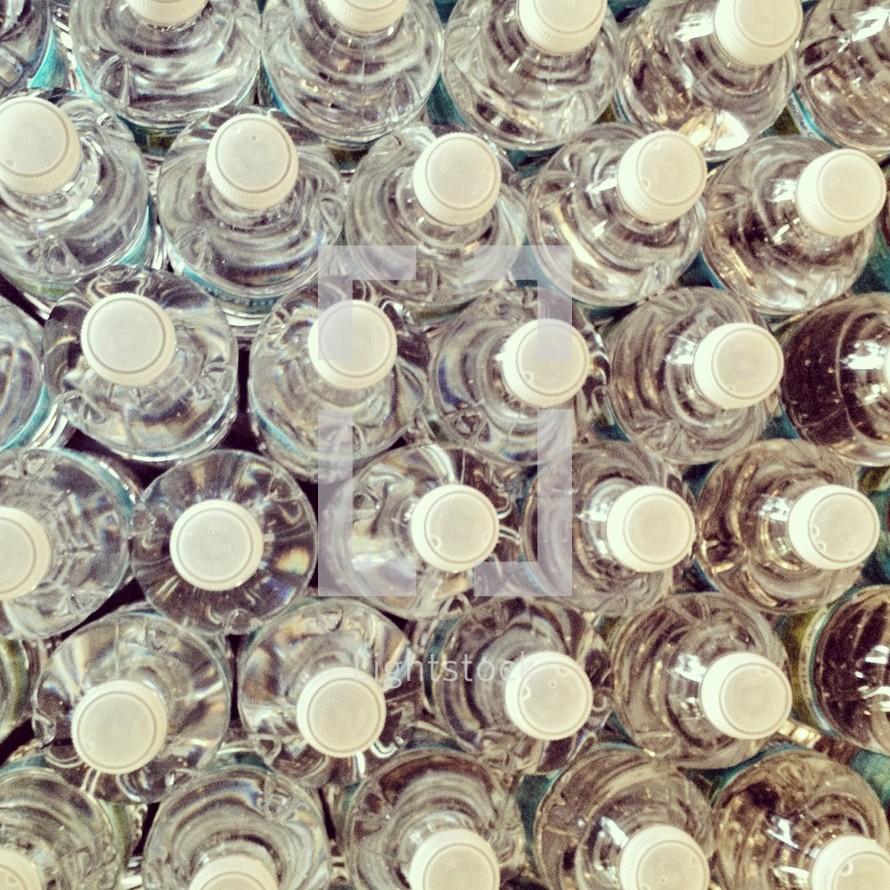 full water bottles