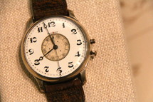 Antique wristwatch, a form of clock or timepiece