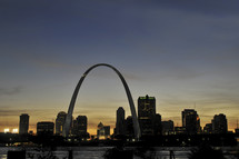 St Louis skyline