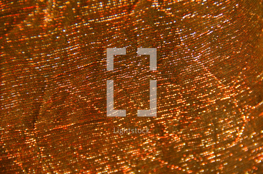 Magnified shimmery fabric.