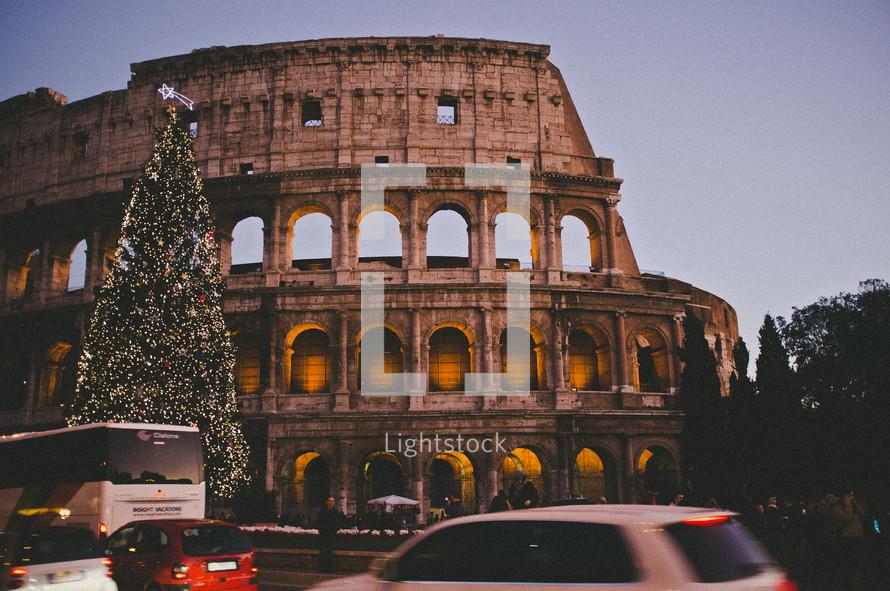 Old Roman building