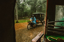 rainy day in Cambodia