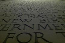 memorial for fallen soldiers