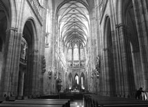 St. Vitus Cathedral Prague interior
