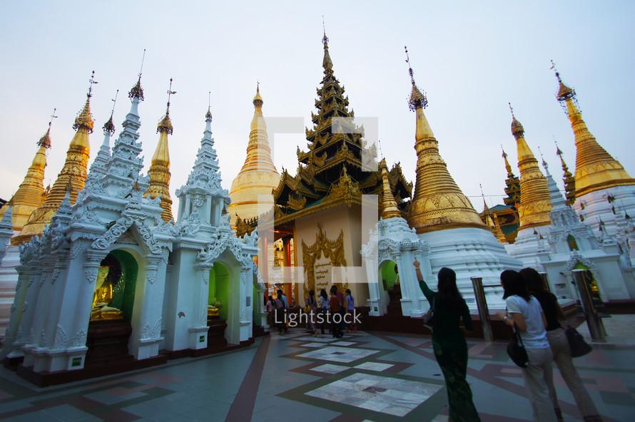 temples Swedagon Paya