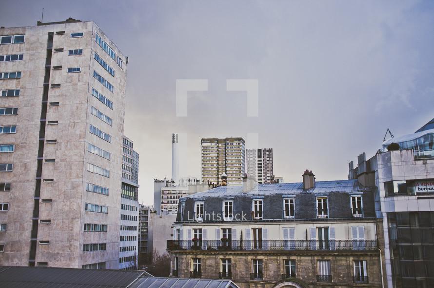 Buildings in Paris