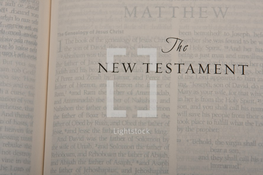 Scripture Titles - The New Testament