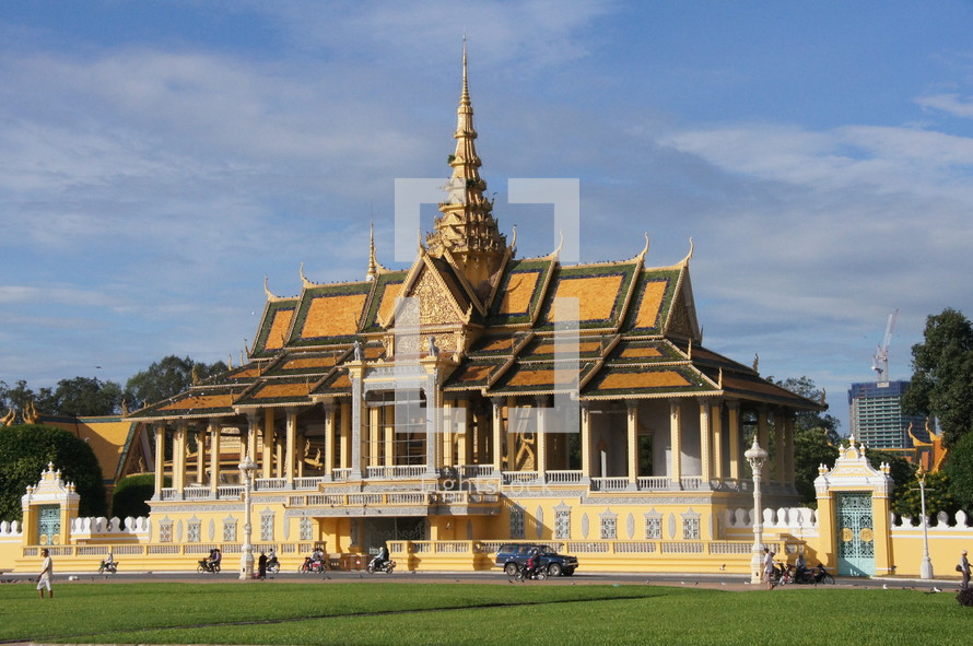 The Royal Palace in Phnom Penh, capital of Cambodia.