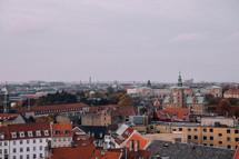 roofs of buildings in Copenhagen