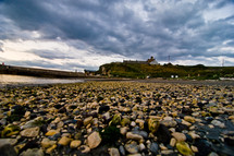 stones along a shore