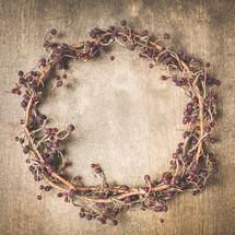 vines and berries wreath
