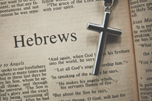 Hebrews and a cross necklace