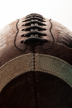 laces on a football