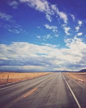 rural road ahead