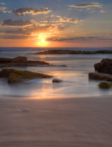 Birubi Beach sunset.