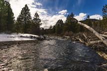 Tumalo Falls River