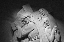 stations of the cross sculpture
