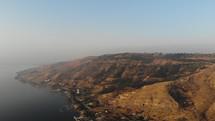 shoreline and sea