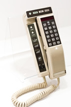 old land line telephone