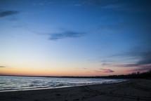 Myrnam Beach {Lake Erie} at sunset.