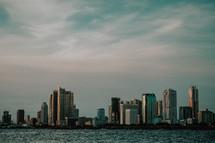 city across a bay