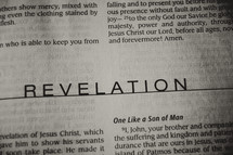Open BIble in book of Revelation