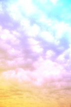 colorful clouds in the sky