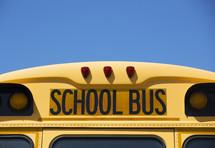 school bus sign