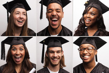 excited graduates