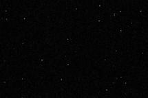Starry sky at night.