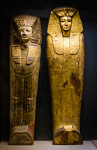 Ancient Egyptian mummy cases