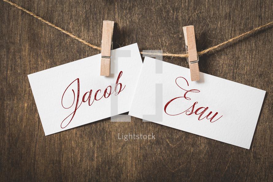 Jacob Esau