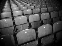 empty theater seats