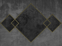 gray and gold squares