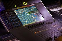 hands on a soundboard