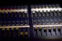 controls on soundboard