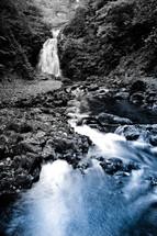 Waterfall creek stream