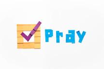 vote pray