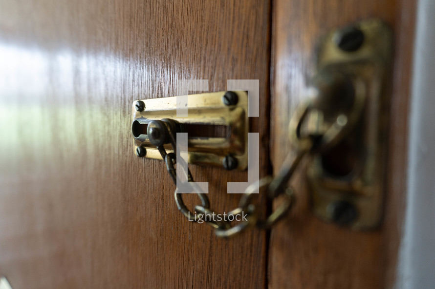 locked door latch