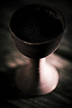 A depiction of the cup of Christ used during the Last Supper.