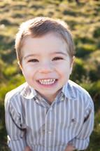 a happy young boy