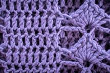 purple knit background
