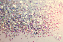 macro glitter background