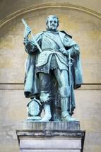 statue of a knight in Munich