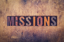word missions